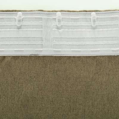 Kant en klaar gordijn BASIC met plooiband 140x280cm, light brown