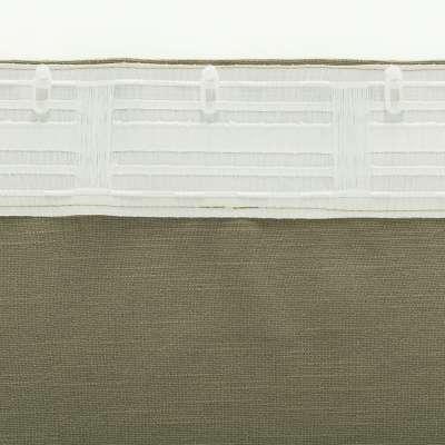 Zasłona BASIC na taśmie marszczącej 140x280cm khaki 1 szt.