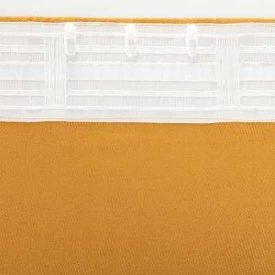 Zasłona BASIC na taśmie marszczącej 140x260cm miodowy szenil 1 szt.