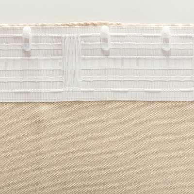 Kant en klaar gordijn BASIC met plooiband 140x300cm, creme