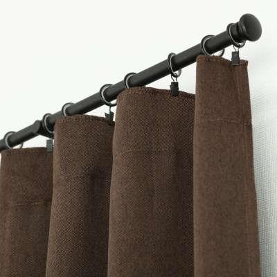 Užuolaidos BASIC pieštukinio klostavimo 140x300cm tamsiai ruda 1 vnt. Užuolaidos standartinės BASIC - Dekoria.lt