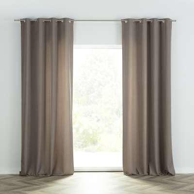 Ready-made curtain BASIC with eyelets 140x280cm light brown Ready made curtains BASIC - Dekoria.co.uk
