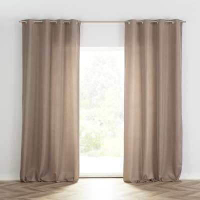 Ready-made curtain BASIC with eyelets 140x280cm beige Ready made curtains BASIC - Dekoria.co.uk