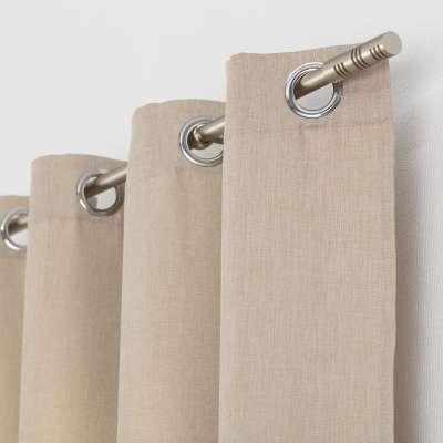 Kant en klaar gordijn BASIC met ringen 140x280cm creme Kant en klaar gordijnen BASIC - Dekoria.nl
