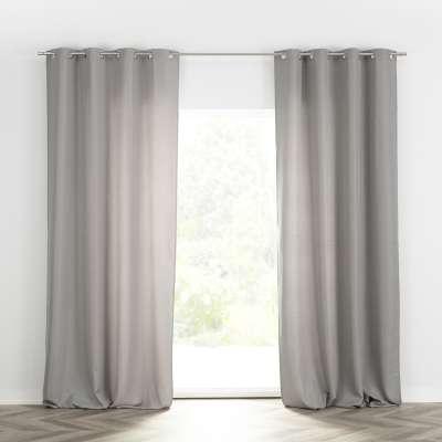 Ready-made curtain BASIC with eyelets 140x280cm light grey Ready made curtains BASIC - Dekoria.co.uk