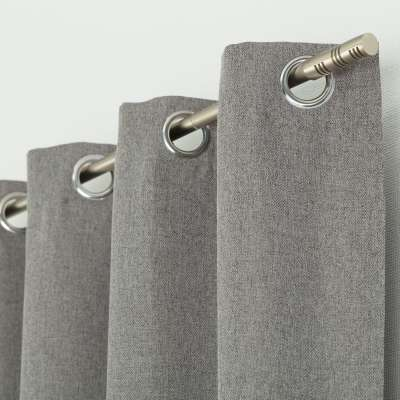 Užuolaidos BASIC žiedinio klostavimo 140x280cm pilka melanžo 1 vnt. Užuolaidos standartinės BASIC - Dekoria.lt