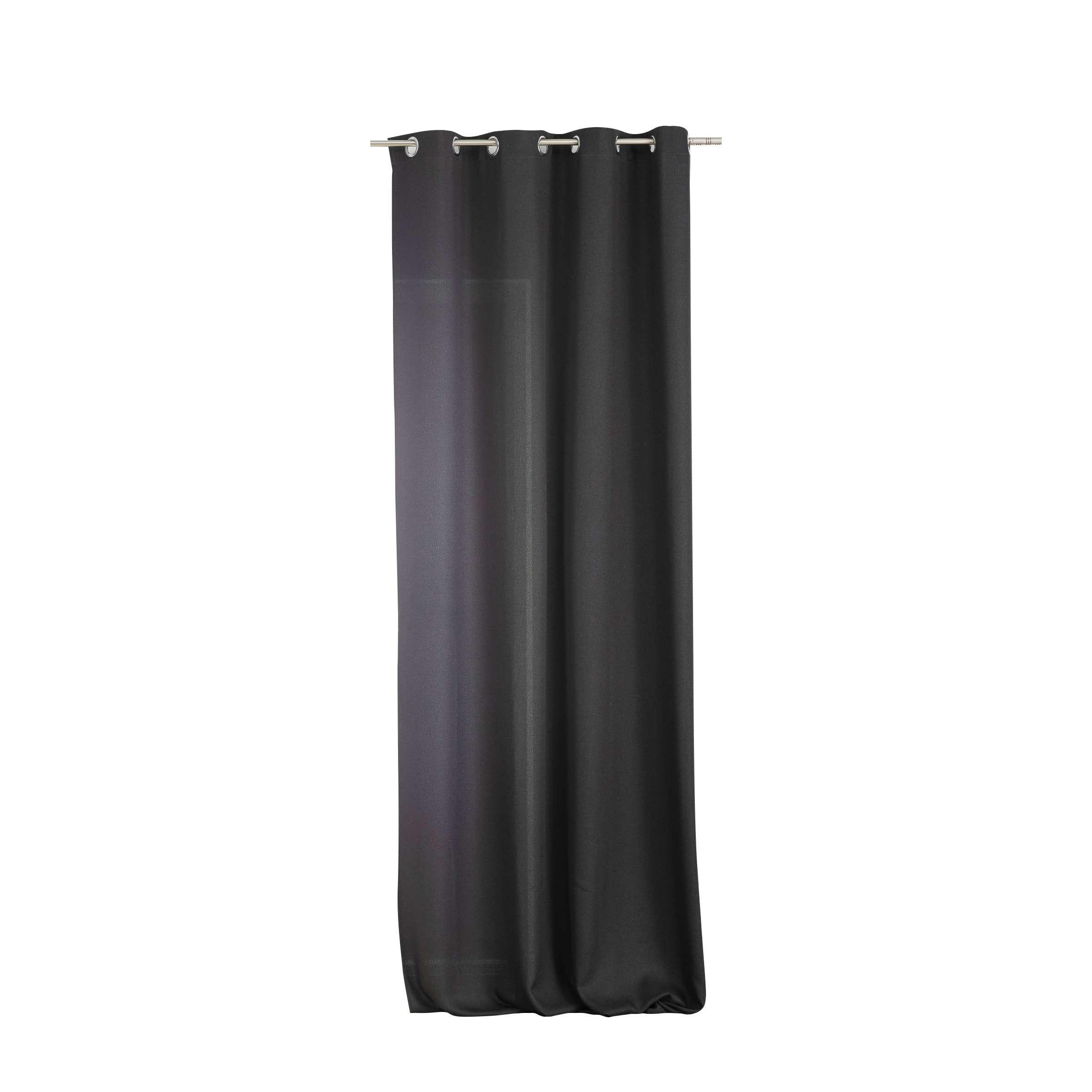 Zasłona BASIC na kółkach 140x280cm antracytowy 1 szt.