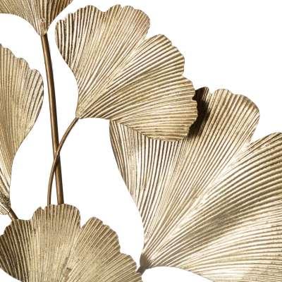 Dekoracja ścienna Golden Ginko Leaves