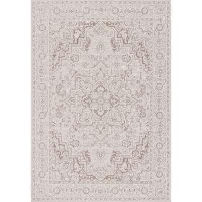 Teppich Lineo Modern Rose wool mink 160x230cm Teppiche - Dekoria.de