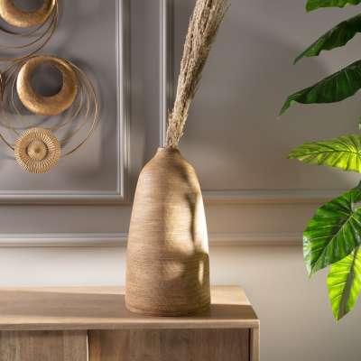 Vase Sandy 46cm Wohnaccessoires - Dekoria.de