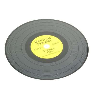 Pokładka dekoracyjna Vinyl ⌀38 Podkładki i podstawki - Dekoria.pl
