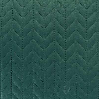 Tagesdecke Silky Chic 220x240 cm deep green