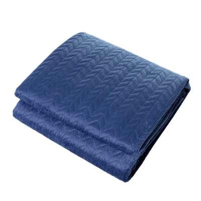 Sametový přehoz Silky Touch 220x240cm royal blue Přehozy na míru - Dekoria-home.cz