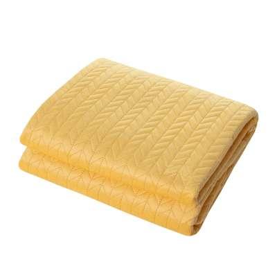 Tagesdecke Silky Chic 220x240cm yellow Schlafzimmer - Dekoria.de