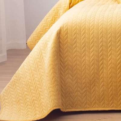 Narzuta na łóżko Silky Chic 220x240cm yellow