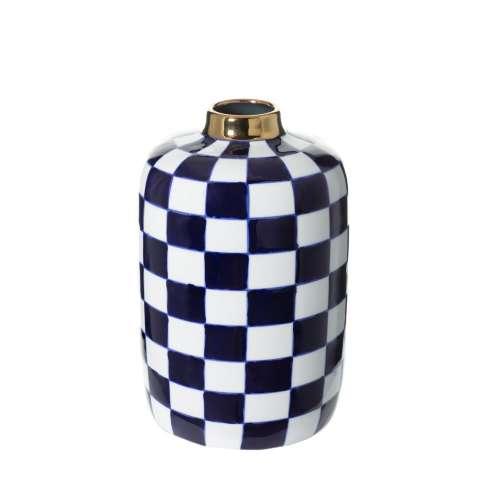 Vase Chessboard 26cm