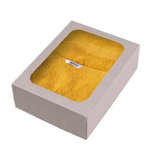 Komplet ręczników Cairo 3 szt. yellow