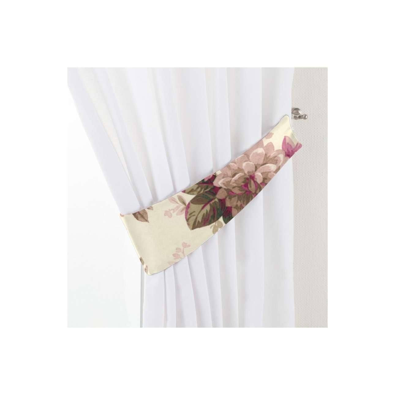 Dekoria Vázačka Victoria, růžovo - béžové růže na krémovém pozadí, 12 × 70 cm, Londres, 141-07