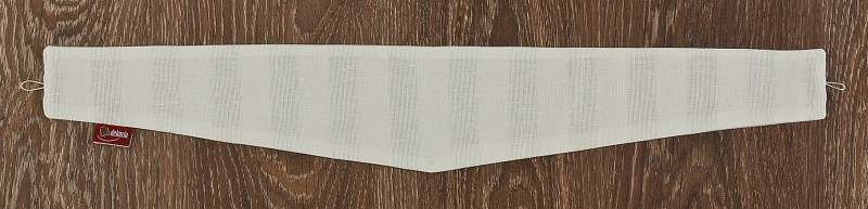 Victoria 12 × 70 cm fra kollektionen Linen, Stof: 392-03