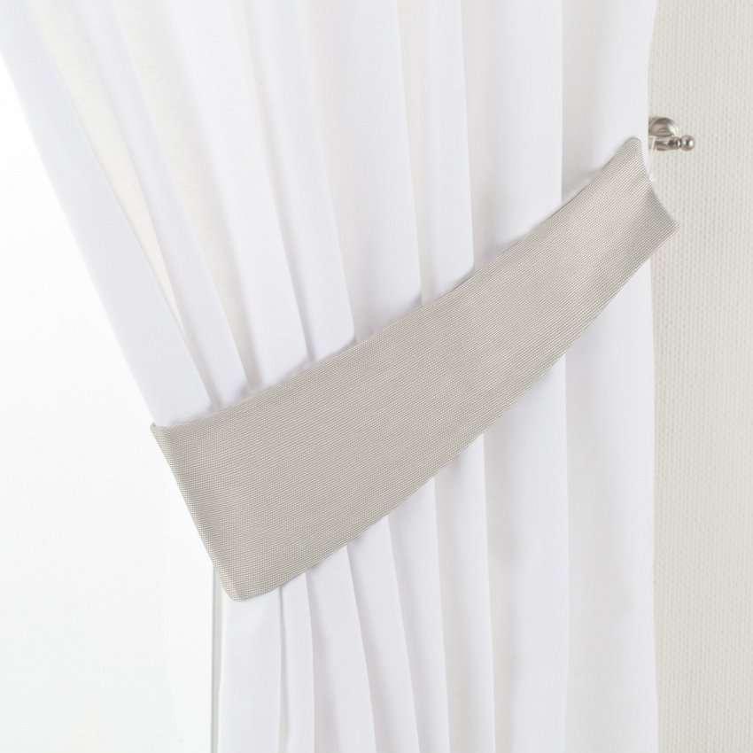 Gardinomtag Victoria i kollektionen Panama Cotton, Tyg: 702-31