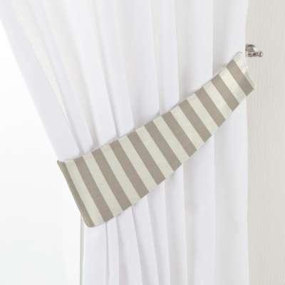 Victoria tieback 136-07 beige and white stripes (1.5cm) Collection Quadro