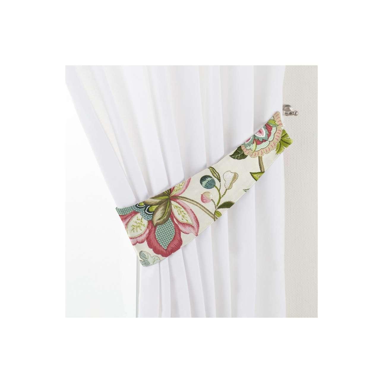 Dekoria Vázačka Victoria, pohádkové květy na světlém podkladu, 12 × 70 cm, Londres, 122-00