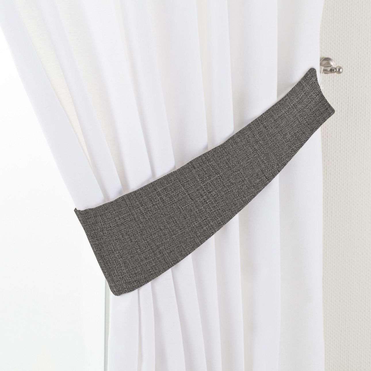 Raffhalter Victoria, dunkelgrau, 12 × 70 cm, Blackout (verdunkelnd) | Heimtextilien > Gardinen und Vorhänge > Raffhalter | Dekoria