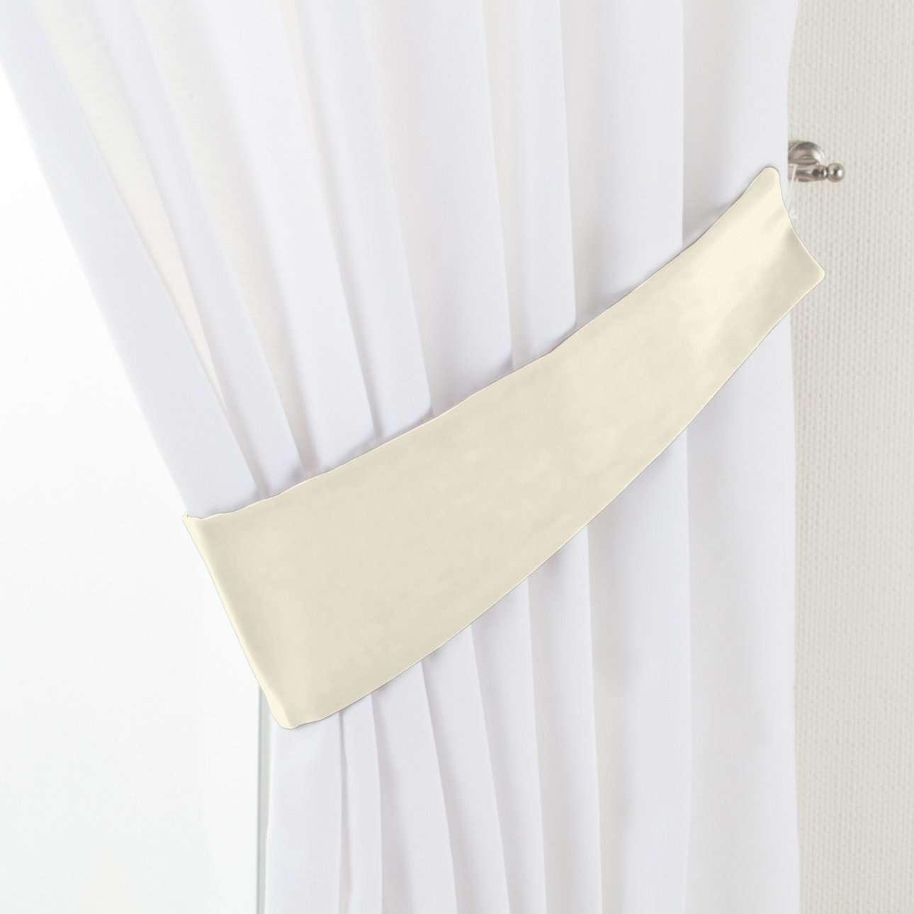 Raffhalter Victoria, altweiß, 12 × 70 cm, Velvet | Heimtextilien > Gardinen und Vorhänge > Raffhalter | Dekoria