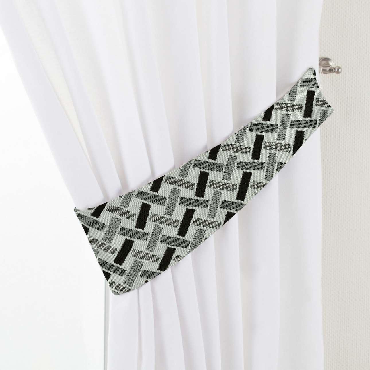Podwiązka Victoria w kolekcji Black & White, tkanina: 142-78