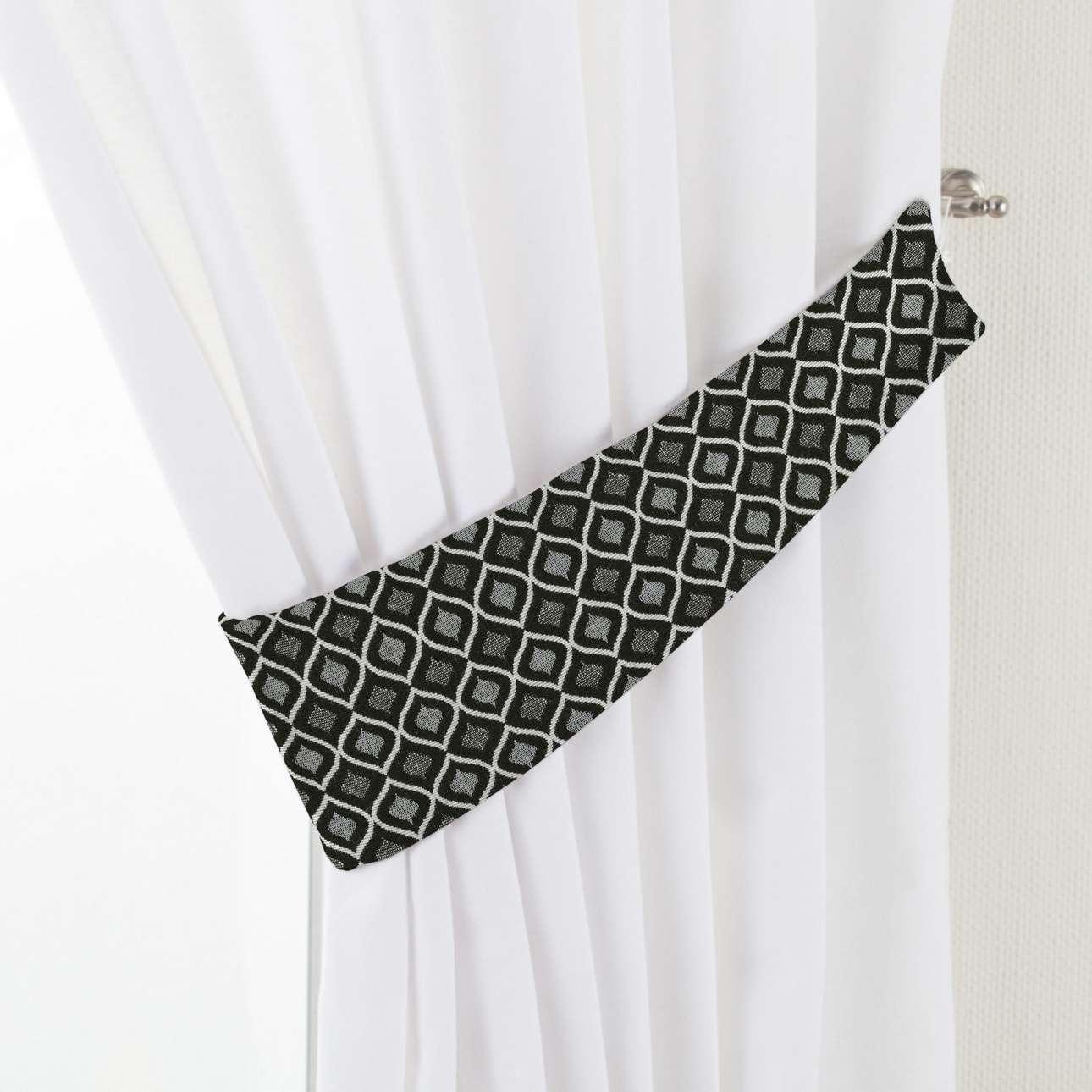 Úchyt Victoria, 1ks V kolekcii Black & White, tkanina: 142-86