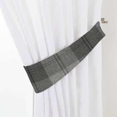 Victoria tieback 115-75 grey tartan Collection Edinburgh