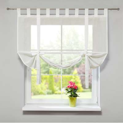 Roma voile blind with bamboo 128-88 sheer ivory Collection Romantica