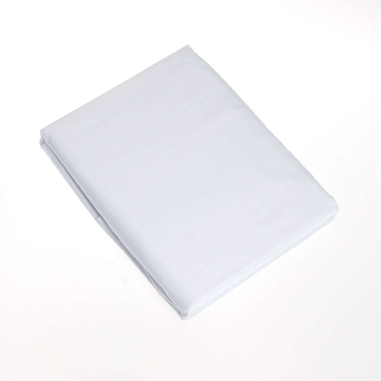 Prostěradlo satén bílé pružné
