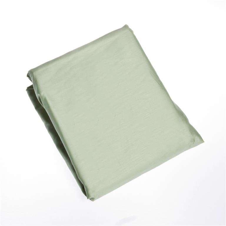 Paklodė su guma iš satino (mėtos spalva) 90x200cm