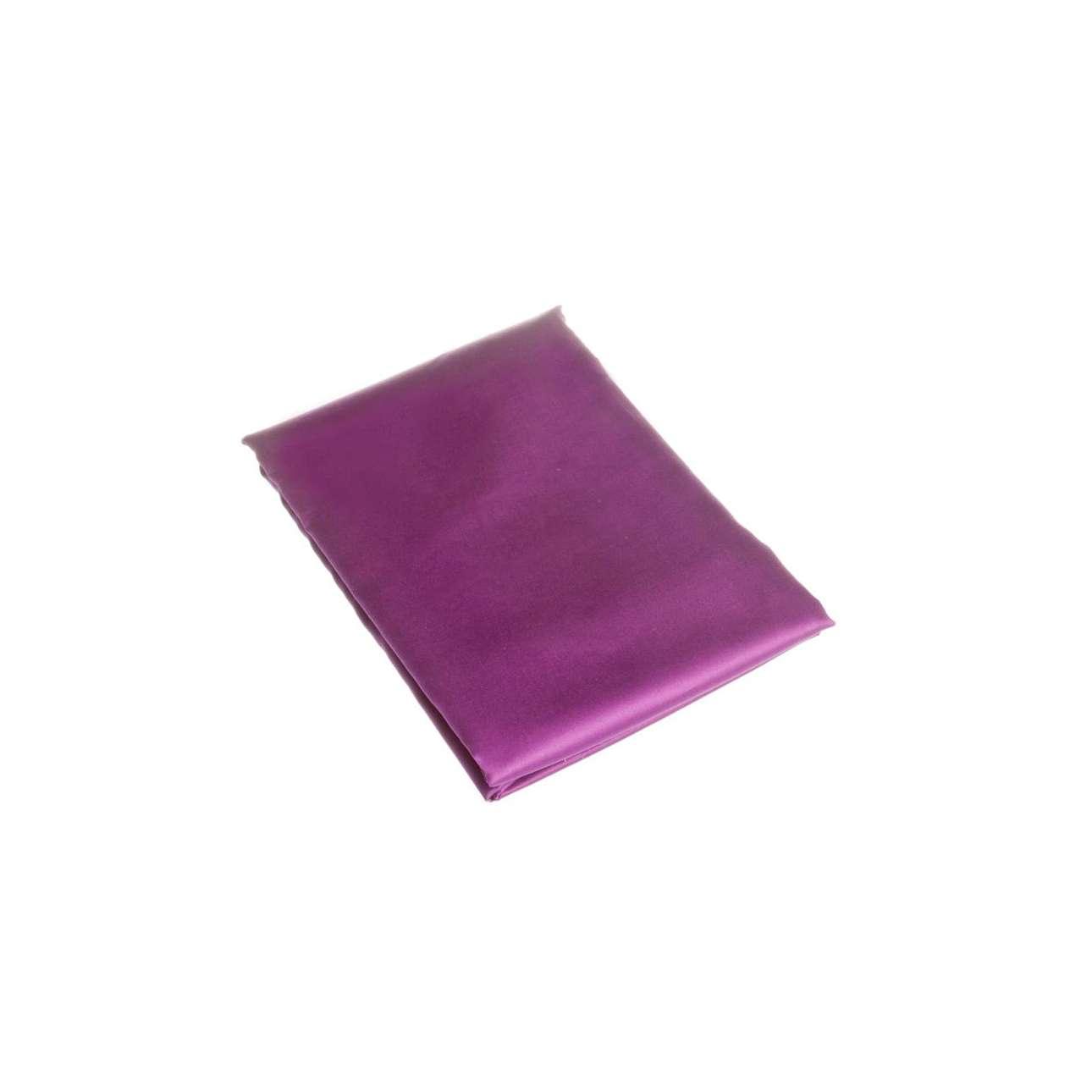 Prostěradlo satén fialové hlaké