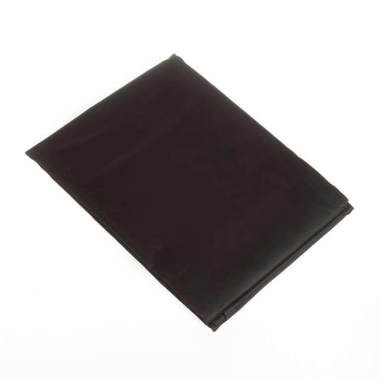 Paklodė iš satino juoda 160x200cm