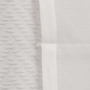 Roleta woalowa Lily z wąską koronką szer.100 x dł.180cm w kolekcji Woale, tkanina: 900-01