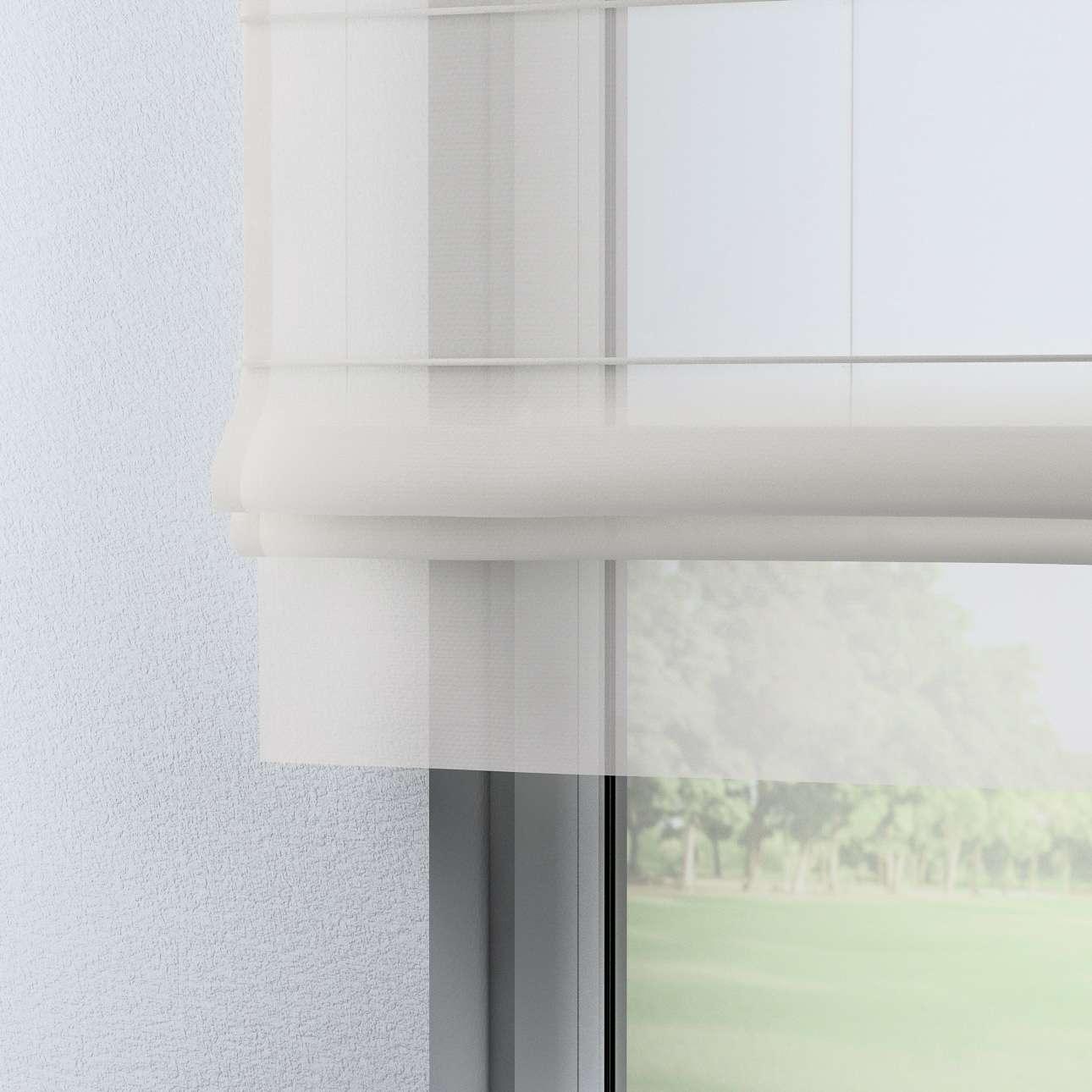 Foldegardin Bologna<br/>Med stropper og flæse til gardinstang 100 x 180 cm fra kollektionen Voile, Stof: 900-01
