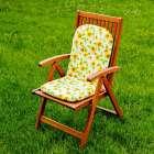 Materac ogrodowy 94x40x3,5cm słoneczniki 94x40x3,5 cm
