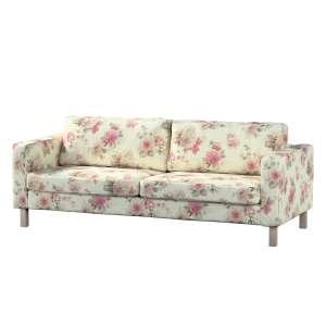 Pokrowiec na sofę Karlstad rozkładaną, krótki Sofa Karlstad 3-os rozkładana w kolekcji Mirella, tkanina: 141-07