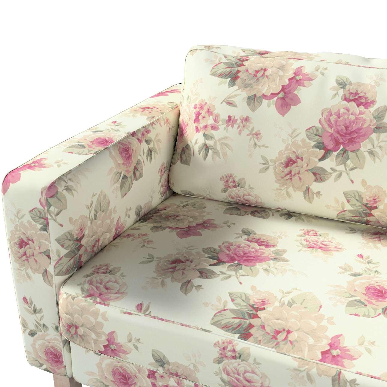 Pokrowiec na sofę Karlstad rozkładaną w kolekcji Londres, tkanina: 141-07