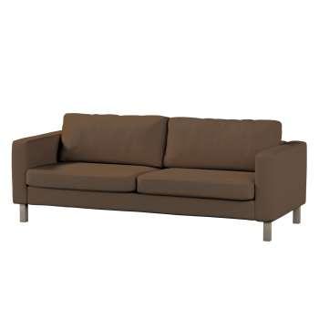 Pokrowiec na sofę Karlstad rozkładaną, krótki Sofa Karlstad 3-os rozkładana w kolekcji Cotton Panama, tkanina: 702-02