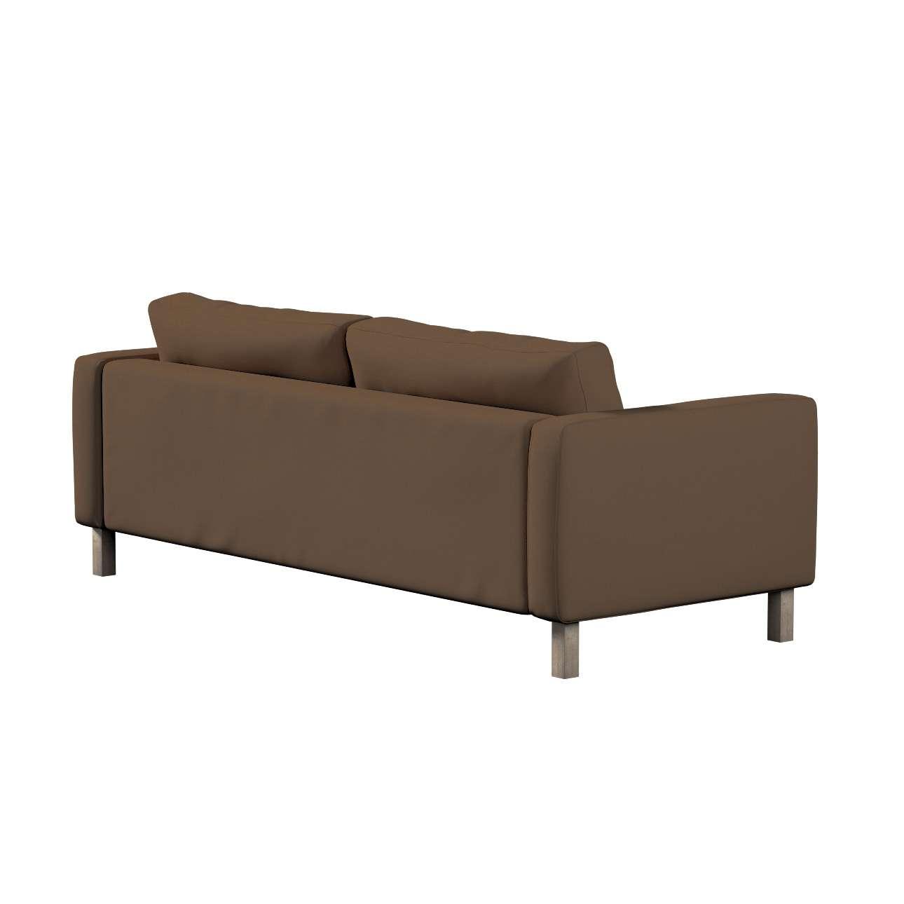 Potah na pohovku IKEA Karlstad, 3-místná, rozkládací v kolekci Cotton Panama, látka: 702-02