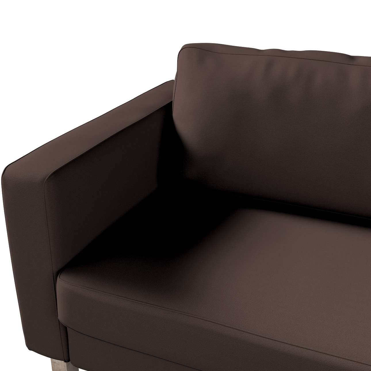 Pokrowiec na sofę Karlstad rozkładaną w kolekcji Cotton Panama, tkanina: 702-03