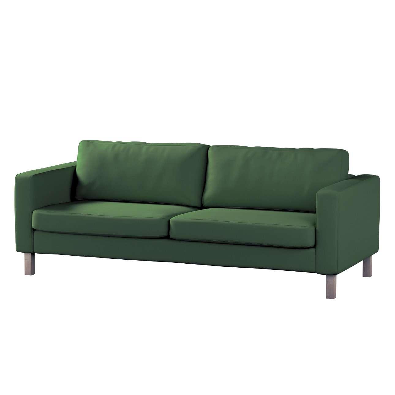 Karlstad 2-Sitzer Schlafsofabezug Karlstad 2-Sitzer ausklappbar von der Kollektion Cotton Panama, Stoff: 702-06