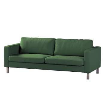 Pokrowiec na sofę Karlstad rozkładaną, krótki Sofa Karlstad 3-os rozkładana w kolekcji Cotton Panama, tkanina: 702-06