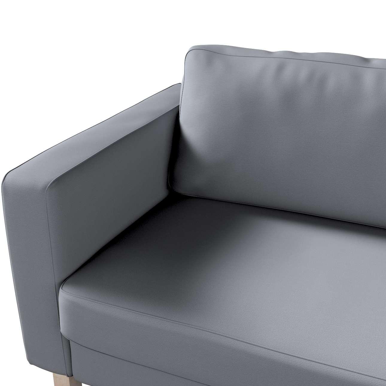 Potah na pohovku IKEA Karlstad, 3-místná, rozkládací v kolekci Cotton Panama, látka: 702-07