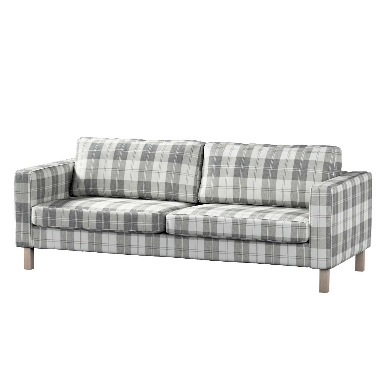 Pokrowiec na sofę Karlstad rozkładaną, krótki Sofa Karlstad 3-os rozkładana w kolekcji Edinburgh, tkanina: 115-79