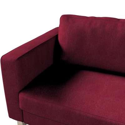 Pokrowiec na sofę Karlstad rozkładaną w kolekcji Chenille, tkanina: 702-19