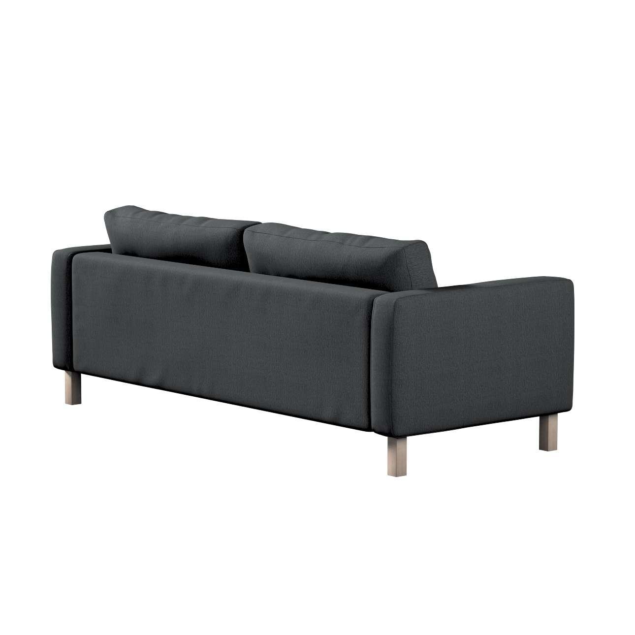 Pokrowiec na sofę Karlstad rozkładaną w kolekcji Chenille, tkanina: 702-20